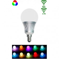 Mi-Light LED E14 Bulb 5W RGB/Warm wit WiFi/RF Controlled